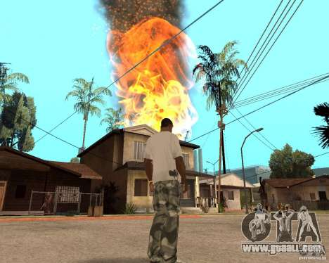 Tornado for GTA San Andreas sixth screenshot