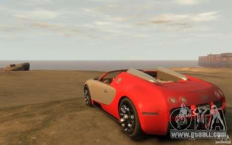 2009 Bugatti Veyron Grand Sport [EPM] for GTA 4
