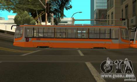 Tramcar 71-623 for GTA San Andreas right view