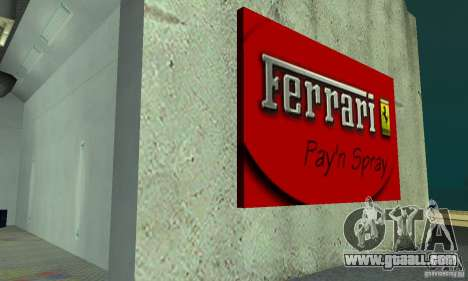 Ferrari, Lamborghini, Porsche Car Showroom for GTA San Andreas third screenshot