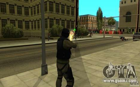 CJ-special forces for GTA San Andreas eighth screenshot