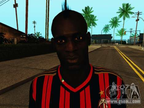 Mario Balotelli v1 for GTA San Andreas sixth screenshot