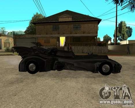 Batmobile for GTA San Andreas right view