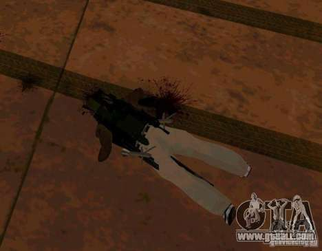 Recruitment animations from GTA IV for GTA San Andreas forth screenshot