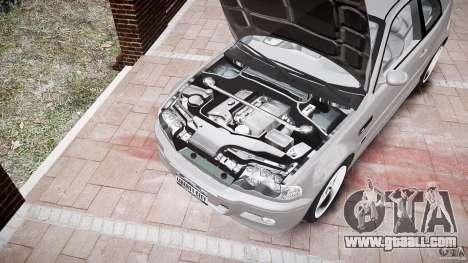 BMW M3 e46 v1.1 for GTA 4 interior
