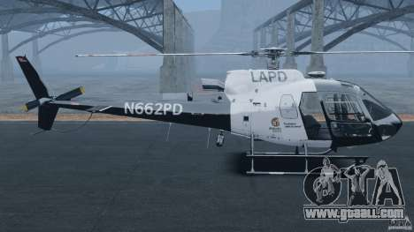 Eurocopter AS350 Ecureuil (Squirrel) for GTA 4 left view
