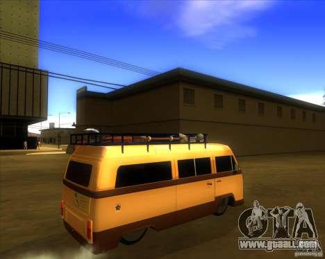 Volkswagen Kombi Classic Retro for GTA San Andreas right view