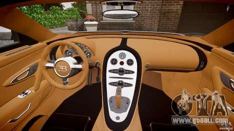 Bugatti Veyron Grand Sport [EPM] 2009 for GTA 4 upper view