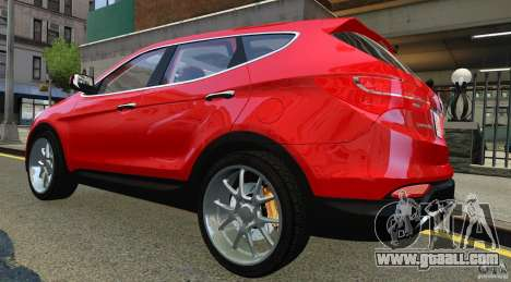 Hyundai Santa Fe Sport 2013 for GTA 4 right view