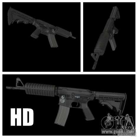 M4 HD for GTA San Andreas