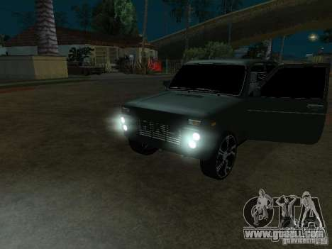 Lada Niva 21214 Tuning for GTA San Andreas left view
