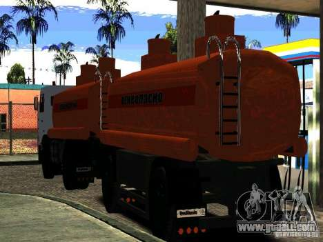 MAZ 533702 Truck for GTA San Andreas right view