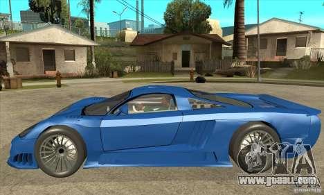 Saleen S7 Twin Turbo Custom Tuned for GTA San Andreas left view