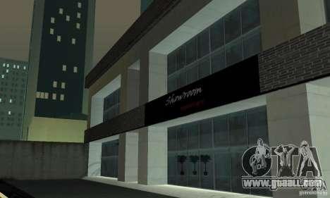 Ferrari, Lamborghini, Porsche Car Showroom for GTA San Andreas second screenshot