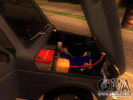 Vaz 2131 NIVA for GTA San Andreas back view