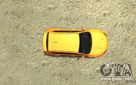Subaru Impreza WRX STI Hatchback 2008 v.2.0 for GTA 4 back view