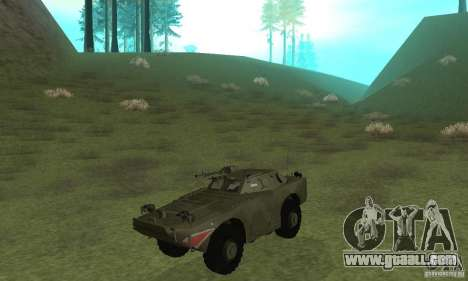 BRDM-1 Skin 4 for GTA San Andreas left view