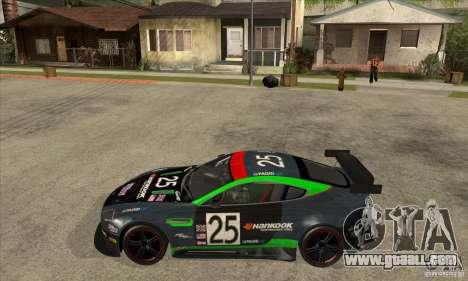 Aston Martin v8 Vantage N400 for GTA San Andreas back view