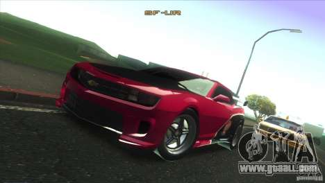 Chevrolet Camaro SS Dr Pepper Edition for GTA San Andreas engine