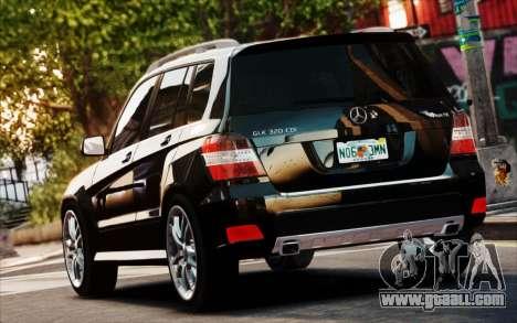 Mercedes-Benz GLK 320 CDI for GTA 4 inner view