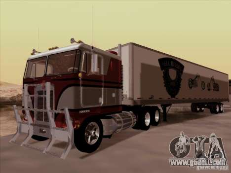 Kenworth K100 for GTA San Andreas right view