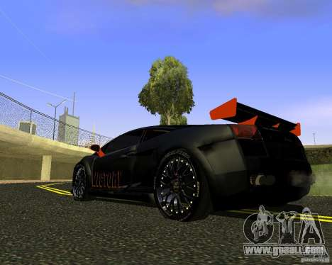 LAMBORGHINI HAMANN VICTORY DESIGN for GTA San Andreas left view