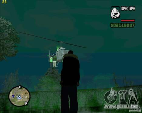 Helicopter help for GTA San Andreas third screenshot