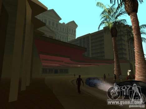 New textures for casino Caligula for GTA San Andreas second screenshot