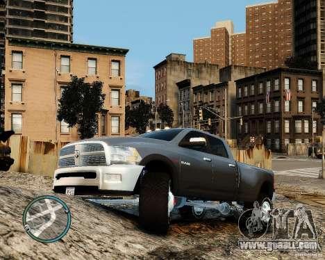 Dodge Ram 3500 Stock for GTA 4 left view