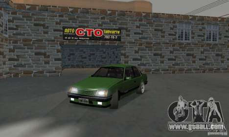 Chevrolet Monza SLE 2.0 1988 for GTA San Andreas