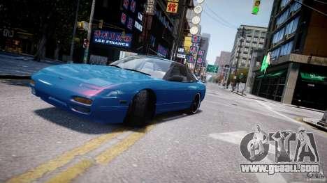 Nissan 240sx v1.0 for GTA 4 upper view