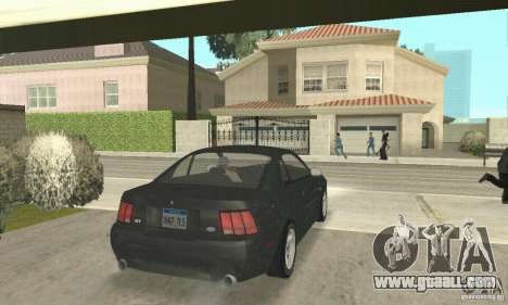 Ford Mustang GT 1999 (3.8 L 190 hp V6) for GTA San Andreas left view