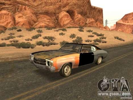 Chevrolet Chevelle Rustelle for GTA San Andreas
