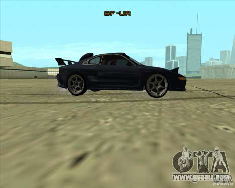 Toyota MR2 1994 for GTA San Andreas back view
