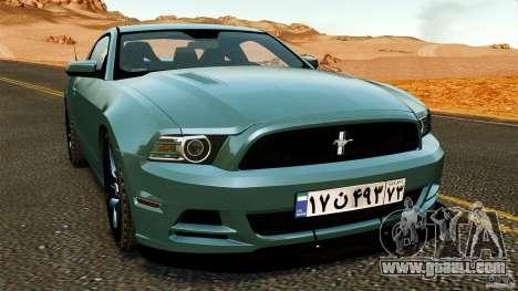 Ford Mustang Boss 302 2013 for GTA 4