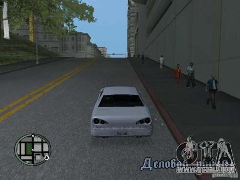 Elegy HD for GTA San Andreas left view