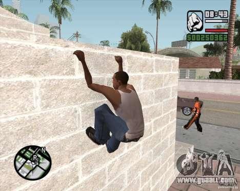 GTA 4 Anims for SAMP v2.0 for GTA San Andreas forth screenshot