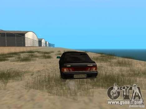 Vaz 2115 Light Tun v. 1.1 for GTA San Andreas back left view