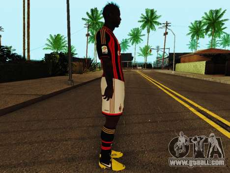 Mario Balotelli v1 for GTA San Andreas second screenshot