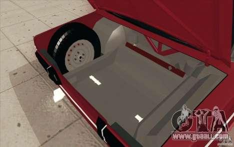 Vaz 2106 Lada for GTA San Andreas interior