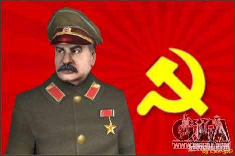 Stalin for GTA San Andreas
