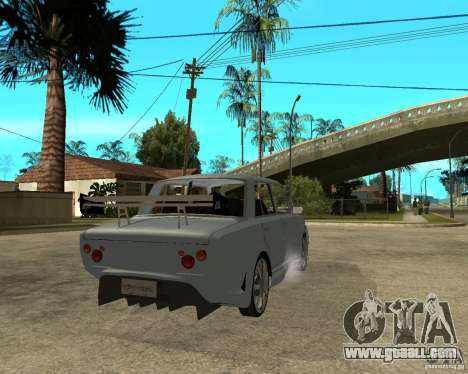 VAZ 2101 CAR TUNING by ANRI for GTA San Andreas back left view