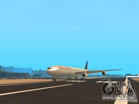 Airbus A340-300 Air Canada for GTA San Andreas