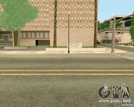 New textures All Saints General Hospital for GTA San Andreas seventh screenshot