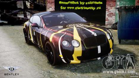 Bentley Continental SS 2010 Gumball 3000 [EPM] for GTA 4 engine
