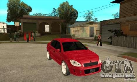 GTA IV Premier for GTA San Andreas back view