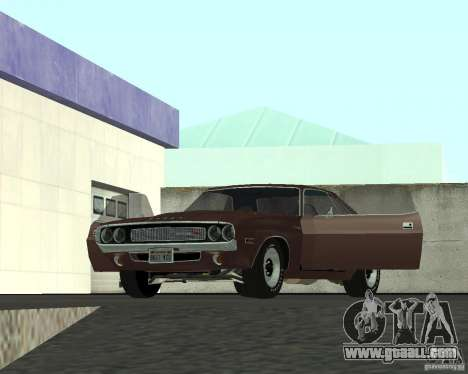 Dodge Challenger for GTA San Andreas side view