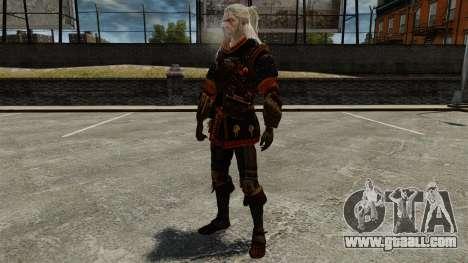 Geralt of Rivia v4 for GTA 4 fifth screenshot