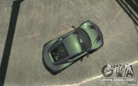 Zenvo ST1 2010 v2.0 for GTA 4 right view