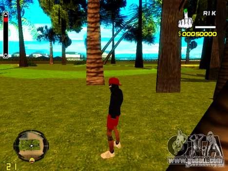Skin bum v1 for GTA San Andreas third screenshot